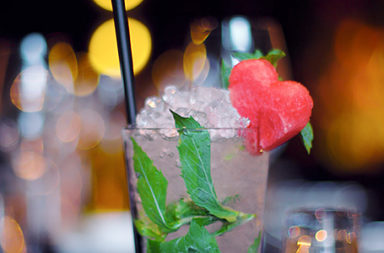 Dragon Fruit Mojito - Cocktail of the month - August 2013