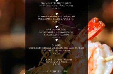 Köstliche Herbstgerichte auf der ♡ Wochenkarte - November 2013