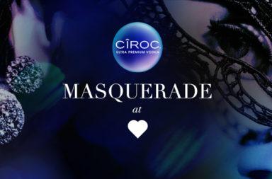 CÎRO präsentiert MASQUERADE at ♡