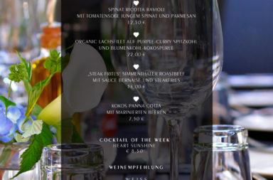 Mediterrane Salate und proteinreiche Sommergerichte ♡ Wochenkarte - Juli 2014