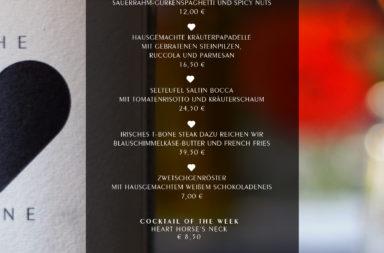 HEART Wochenkarte - 03. September 2014