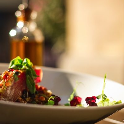Malediven Thuna Steak in Ponzubutter