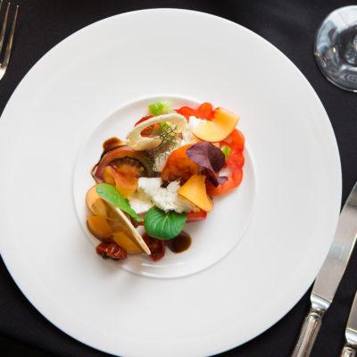 Mozzarella-Tomaten Ensemble