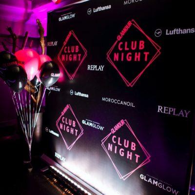 GLAMOUR Club Night 2016