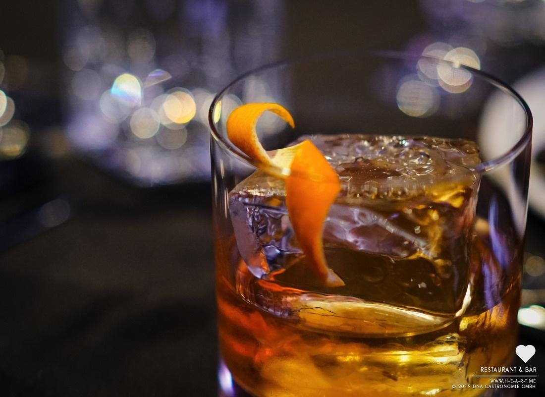 Bulleit Rye Old Fashioned -Heart Restaurant & Bar