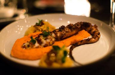 Spicy Octopus - Heart Restaurant & Bar