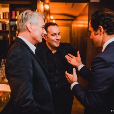 Alois Loew (Loews GmbH), Daniel Laurent (Geschäftsführung Hearthouse) und Dr. Dominik Pförringer