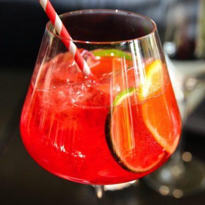Aperol Hibiscus Lemonade